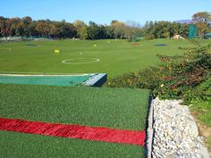 Driving Range, October 2015. Golf Club Udine,  Fagagna, Italy.