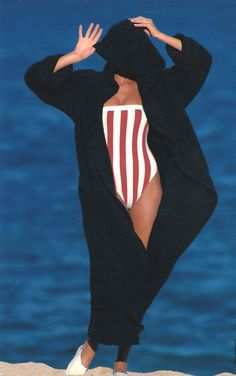 Elle MacPherson   Photography by Gilles Bensimon   For Elle Magazine France   May 1987
