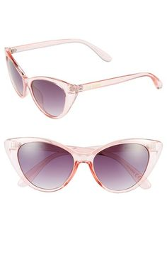 Steve+Madden+54mm+Retro+Cat+Eye+Sunglasses+available+at+#Nordstrom