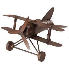 Vintage Airplane Decor