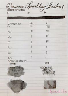 Ink Shot Review Diamine Sparkling Shadows (2)