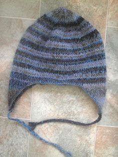 4daa8621e64 my number 1 favorite earflap hat pattern. easily altered to be done in the  round