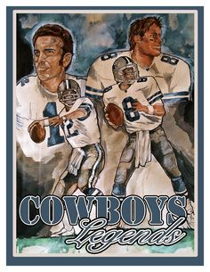 Sports Art Dallas Cowboys Art Art by Ramiro Ordonez