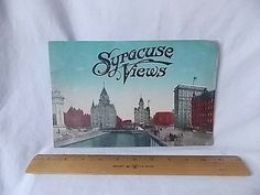 Vintage 1913 Syracuse NY Views Photo Booklet by ourtimecapsule