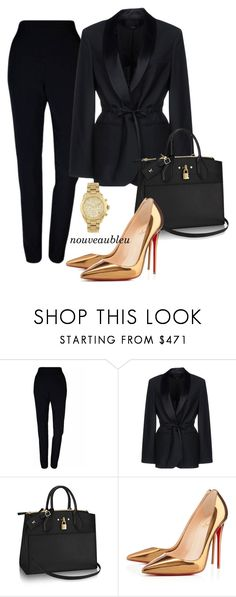 """Untitled #320"" by dolcewita on Polyvore featuring Plakinger, Alexander Wang, Christian Louboutin, Michael Kors, men's fashion and menswear"