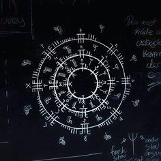 "34 Likes, 6 Comments - Ræveðis (@raevedis) on Instagram: ""Lønrunediagram #runes #lønruner #sigil #sigils #magick #witchcraft #trolldom #asatru #paganism…"""