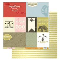 Zoo - Papier Animal
