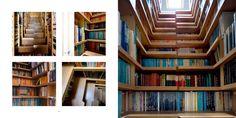 Levitate Architecture and Design Studio : Bookcase Staircase, London