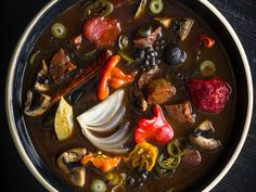For Bar Tartine in San Francisco, chef Nick Balla created this smoky, earthy soup as a tribute to his Hungarian-America father. Lentil Soup Recipes, Best Soup Recipes, Bean Recipes, Vegetarian Recipes, Best Slow Cooker, Slow Cooker Soup, Slow Cooker Recipes