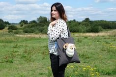 Unique handmade bag! Every one is special and one of a kind. This hug a bag is a limited edition canvas bag.