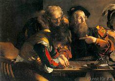 Michelangelo Merisi Caravaggio - Berufung des hl. Matthäus