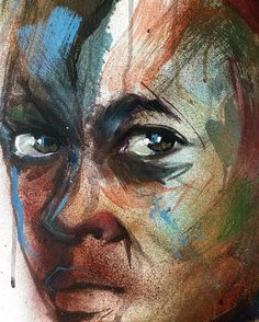 ( Taşıma su ve Değirmenler )  Serisi 2013 - portre / detay  Tuval üzeri karışık teknik  #portrait#oilpainting#painting#work#art#fineart#artwork#style#studio#color#colour#acrylic#figuratif#drawing#paper#lineart#abstractportrait#contemporaryart#gallery#face#modernart#magazine#realizm#action#portraitphotography#draw by muzafferbeyler