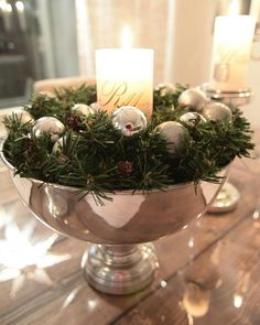 Pin by chris Holloway on christmas decor Christmas Shopping, Christmas And New Year, Winter Christmas, Christmas Themes, Christmas Decorations, Diy Easter Decorations, Christmas Centerpieces, Table Centerpieces, Christmas Interiors