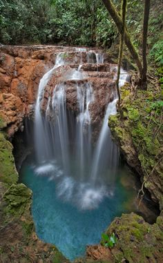 Bonito, Brazil here you can find  some of the biggest in the World underwater stalagmites up to 18 meters high