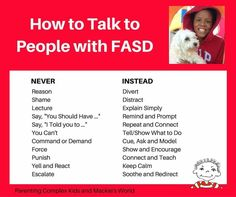 Talking Points for fasd