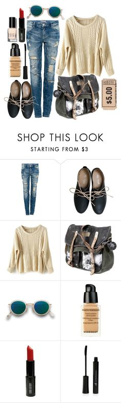 """""""Imagine #1"""" by macedonia007 ❤ liked on Polyvore featuring Pull&Bear, Miz Mooz, Acne Studios, Givenchy, Lord & Berry, Bobbi Brown Cosmetics, women's clothing, women's fashion, women and female"""