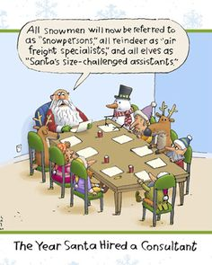 Santa hired a Consultant                                                                                                                                                                                 More