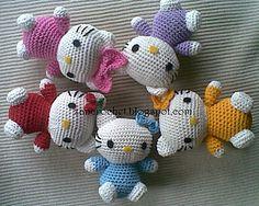 FREE PATTERN Hello Kitty by zan MerryHello Kitty… It's about 9cm..