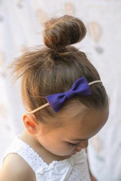 """Avery Bow in """"Plum"""""""