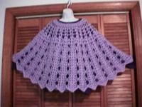 Bows and Arrows Poncho: Dot Matthews (bythehook) - Free Original Patterns - Crochetville
