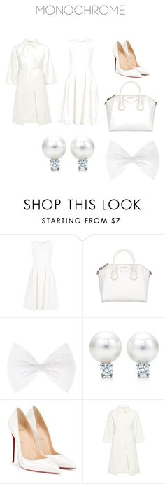 """""""Welcoming white"""" by natcat603 ❤ liked on Polyvore featuring ADAM, Givenchy, Christian Louboutin and Paul & Joe Sister"""