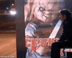 Awesome Chucky Halloween Prank (GIF)