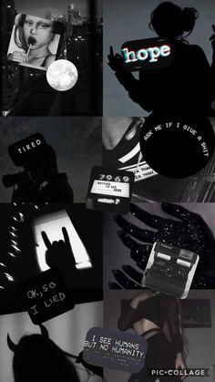 black aesthetic🖤💣
