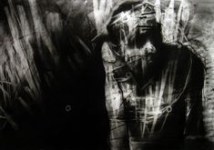JOSEPH LOUGHBOROUGH | The Stranger.  charcoal on paper.  70/100cm.