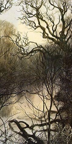 alan lee_faeries_water faeries.jpg (805×1600)