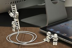Syncing the iPad by 713 Avenue | LEGO Star Wars Stormtrooper Minifigs