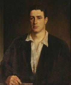 Sir Edward Charles Benthall (1893–1961), KCSI, as a Young Man, Glyn Warren Philpot
