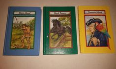Childrens Classic Books BLACK BEAUTY TREASURE ISLAND ROBIN HOOD Lot of 3 Books. Please RePinit, ReTweet and Share on Facebook. Thanks
