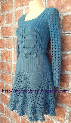 Fabulous Crochet a Little Black Crochet Dress Ideas. Georgeous Crochet a Little Black Crochet Dress Ideas. Crochet Bodycon Dresses, Knit Dress, Crochet Shirt, Knit Crochet, Clothing Patterns, Dress Patterns, Unique Crochet, Jacket Pattern, Barbie Dress