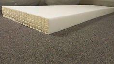 4 x 24 x 78 Foam Rubber Sheet Cushion Replacement