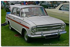 Vauxhall Victor front - Vauxhall Victor The had twin carburretors, higher compression and disc brakes. It also had bucket front seats Classic Cars British, Old Classic Cars, British Car, Australian Muscle Cars, Mini Clubman, Cars Uk, Commercial Vehicle, Car Photos, Old Cars