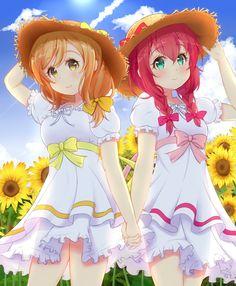 Love live sunshine Kunikida Hanamaru & Kurosawa Ruby