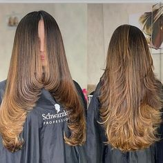 67 Trendy Long Layered Haircuts & Hairstyles for Every Taste - Glowsly Haircuts For Long Hair With Layers, Haircuts Straight Hair, Haircuts For Medium Hair, Long Layered Haircuts, Long Hair Cuts, Hairstyles Haircuts, Medium Hair Styles, Curly Hair Styles, School Hairstyles
