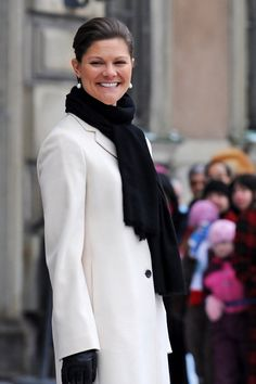 Princess Victoria - Crown Princess Victoria of Sweden Celebrates Her Name Day