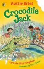 Book Cover:  Crocodile Jack: Aussie Bites