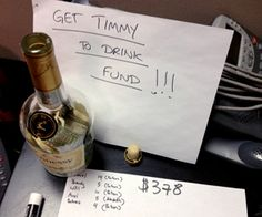 *I love this guy: When Timmy Ho heard about the water crisis, he wanted to do something meaningful & so he gave up all alcoholic beverages for a year or until he raised one thousand dollars. Thousand Dollars, One Thousand, Alcoholic Beverages, Giving Up, Fundraising, Charity, Something To Do, Clever, Guy