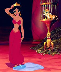 Even in Disney movies women are sexualized, and taught she can save the day by flirting WOW.