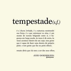tempestade - João Doederlein