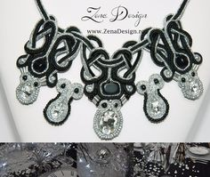Valentine's Day Party jewelry Black and silvery- jewelry set in Jewelry & Watches, Handcrafted, Artisan Jewelry, Necklaces & Pendants | eBay