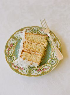 lemon-coconut cake by A Pimento Catering