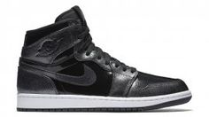 Air Jordan 1 Retro High Black/Black-Anthracite-White (Black Patent) 332550-017