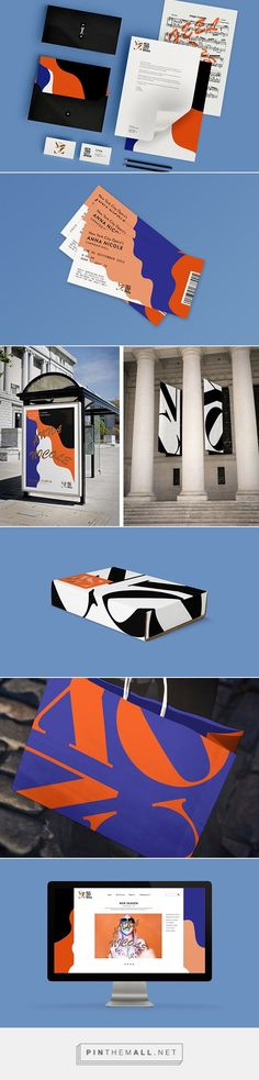It's Nice That | Therese Ottem creates an identity for the now-bankrupt New York City Opera... - a grouped images picture - Pin Them All