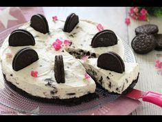 22 New Ideas Cheese Cake Ricetta Oreo Cheesecake Oreo, Cheesecake Recipes, Torta Oreo, Oreo Cake, Cheesecakes, Cracker Dip, Cheese Enchiladas, Chocolate Chip Recipes, Food And Drink