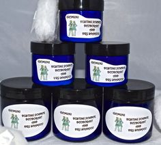 Gemini Deodorant / Dusting Powder / Dry by SCENTSFROMTHESTARS