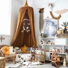 "195 Likes, 9 Comments - @mysweetlittleroom on Instagram: ""Amaaaaaazing little corner of Parker's room over at @homeofthewildlings  Our mustard star cushion…"""