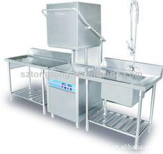 commercial dishwasher/kitchen equipment/used commercial dishwasher for sale/740*750*1400mm/new automatic restaurant dishwashers/
